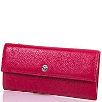 Женский красный кожаный кошелек KARYA (КАРИЯ) SHI1142-1FL