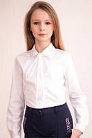 Школьная белая блуза  Albero