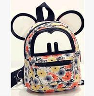 Мини рюкзак женский Микки Маус с крутыми принтами.