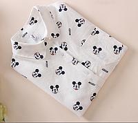 Рубашка (блузка) женская с микки маусом