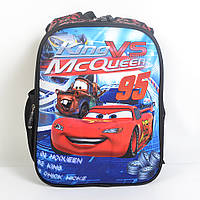 Модный школьный рюкзак для мальчика - Тачки 3D - 87-1101