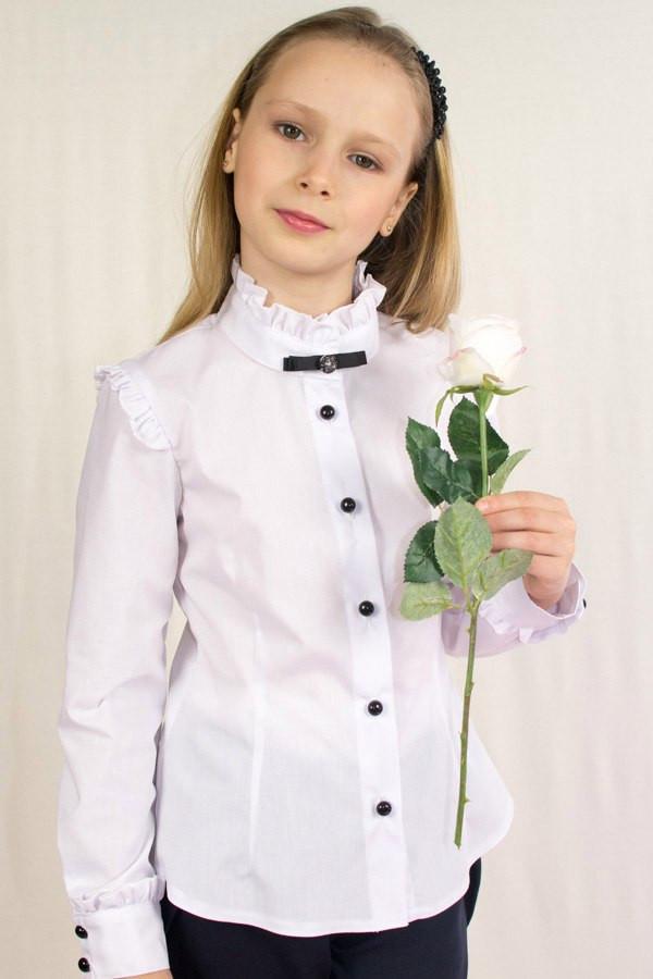 Школьные Блузки Для Девочек Купить
