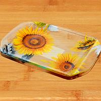 Тарелка `Разнос` 19,5 * 14,4 см (Солнечный день) SNT 3812