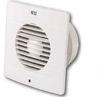 Вентилятор вытяжной малошумный Horoz Electric бытовой для кухни и ванной комнаты 100мм. LUX-534424