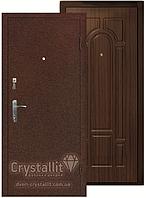 Двери входные металлические модель Арка Металл-МДФ серия Стандарт