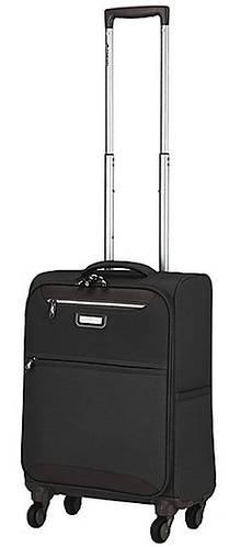 4-колесный тканевый малый чемодан 37 л. March Flybird 2453/07 черный