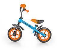 7023 Беговел Dragon (синий с оранжевым(Blue Orange))