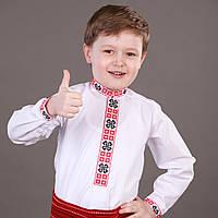 """Українська сорочка вишиванка """"Шкільна"""" для хлопчика на ріст 116-170 см"""