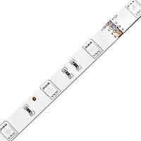 Лента светодиодная FERON LS606/ SANAN LED-RL 60SMD(5050)/m 14,4W/m 12V 5m*10*0.22mm RGB на белом