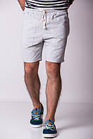Светло-серые шорты MONOCHROME лето`16