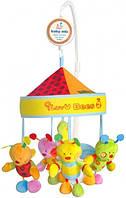 Музыкальный мобиль, Baby Mix - Карусель на кроватку мягкая игрушка 781МС