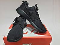 Nike Roshe Run Полностью Черные
