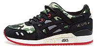 Мужские кроссовки Asics Gel Lyte 3 Bait (асикс гель) камуфляжные
