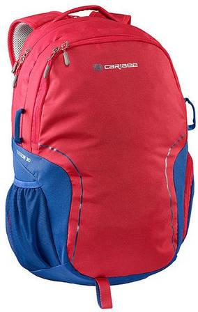 Бесподобный городской рюкзак 30 л. полиэстер Caribee Tucson 30 Red Eye/Deep Blue, 922343 красный/синий