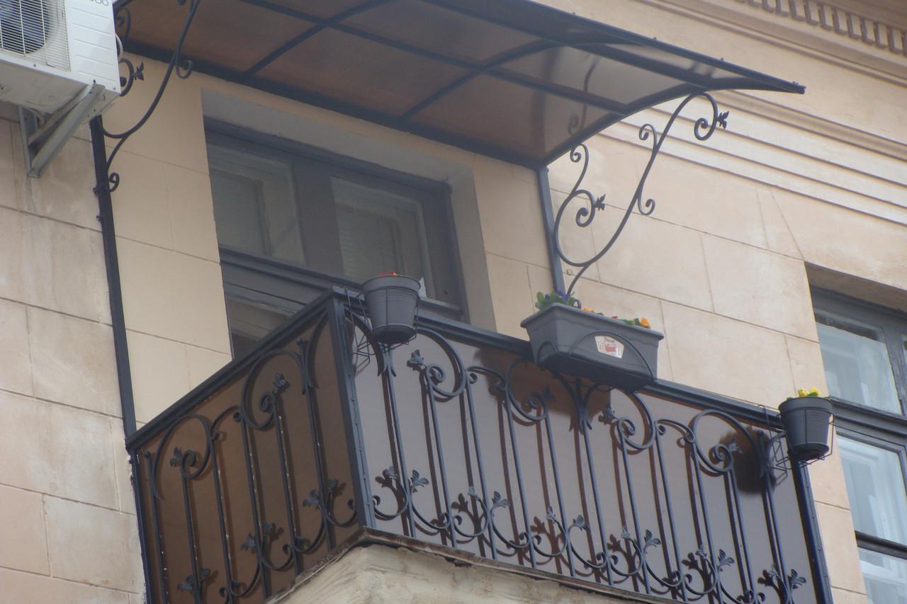 Кованые балконные ограждения. ростковка.