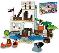 Конструктор Замок пиратов 181 деталь Unico plus 8532-0000