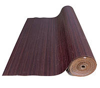 Бамбуковые обои венге 12мм, ширина 150см.