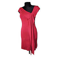 Платье трикотажное красное, размер М купить