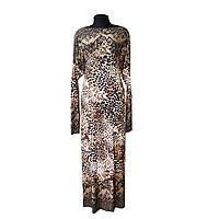 Платье домашнее Леопард