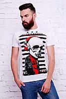 Мужская футболка с черепом