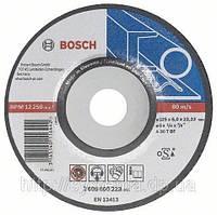 Обдирочный (абразивный) круг BOSCH, изогнутый, по металлу 150х22,3х6,0 мм. СУПЕР ЦЕНА от 100 шт.!!!