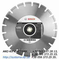 Алмазный отрезной круг BOSCH Standard for Asphalt, 400 мм