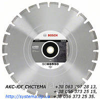 Алмазный отрезной круг BOSCH Best for Asphalt, 500 мм