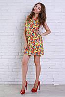 Модное платье оригинального кроя