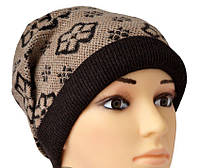 Молодежная шапка на зиму