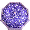 Синий женский зонт полуавтомат AIRTON (АЭРТОН) Z3615-101 Антиветер