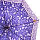 Синий женский зонт полуавтомат AIRTON (АЭРТОН) Z3615-101 Антиветер, фото 3