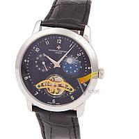 Мужские механические часы Vacheron Constantin Black Silver