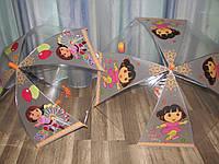 Прозрачный зонт Даша, Dora