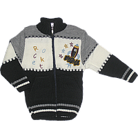 "Детская кофта на ""молнии"", акрил, Украина, ТМ Ромашка, размер 86, 92, 98"