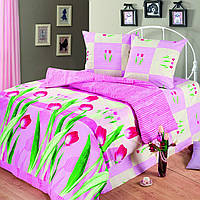 Постельное белье Любимый дом, двуспальное, дизайн Аромат Весны