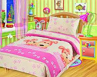 Постельное белье Непоседа, в детскую кроватку, дизайн Собачки 1