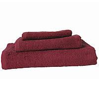 Полотенце махровое Зоряне сяйво, 50*90, гладкокрашенное, модель Red Bud