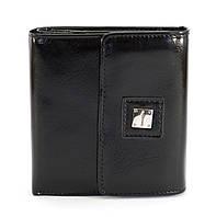 Черный горизонтальный бюджетный женский кошелек FUERDANNI art. 4487