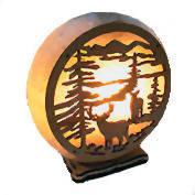 Соляной светильник олени
