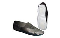 Чешки черные MATSA MA-0057 (р-р 22-44, верх-кожа, подошва-замш, PVC)