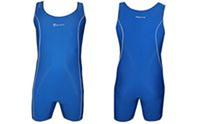 Трико для борьбы мужское синее PRIMA CO-05 (нейлон, эластан, р-р M-2XL)
