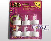 Электронная чайная свеча LED Флами