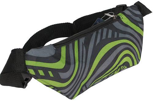 Поясная сумка Loren WB-01 зеленый с серым