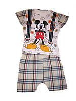 Комплект футболка+шорты для мальчика р.1-3г