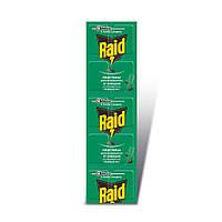 Пластины от комаров Raid для фумигатора Хвойный лес 10 шт