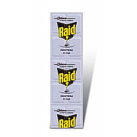 Пластины для фумигатора Raid от мух 10 шт