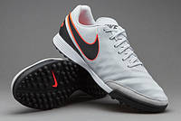 Сороконожки NIKE TIEMPO GENIO II LEATHER TF 819191-001 JR найк темпо