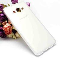 Бампер с пластиковой панелью для Samsung Galaxy A7 - белый