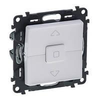 Legrand Valena LIFE Выключатель 6А 250В кнопочный для жалюзи, автоматические клеммы Белый (752430)