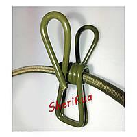 Веревка  бельевая с прищепками, MIL-TEC Olive 16019000